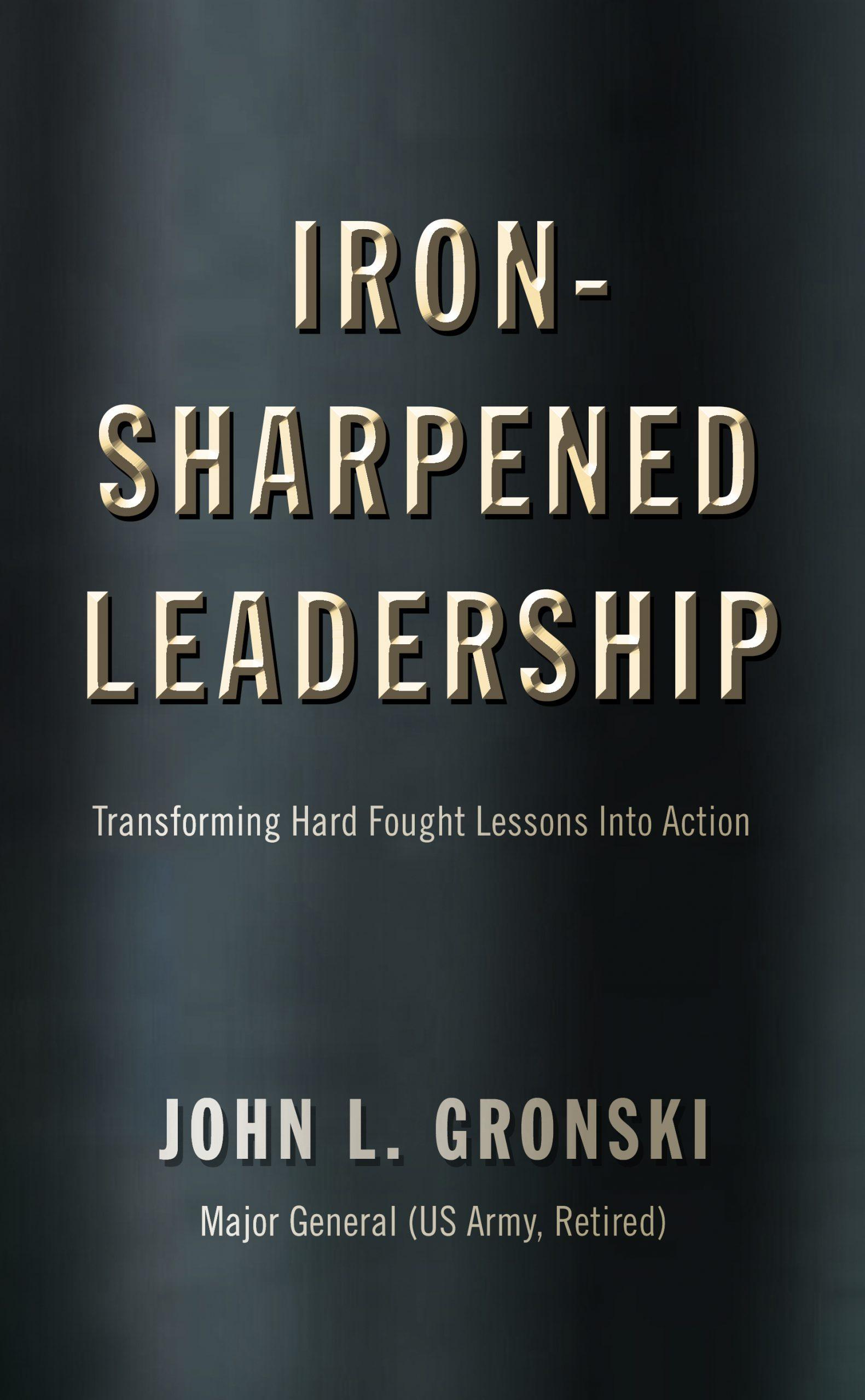Iron Sharpened Leadership Cover